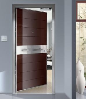 Porte D 39 Entr E Aluminium Ou Acier Blind E Design